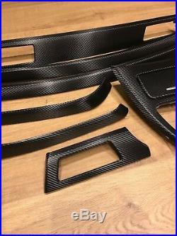 BMW 3 series E90/E91 Black Carbon Fiber Wrapped Interior Trim Set