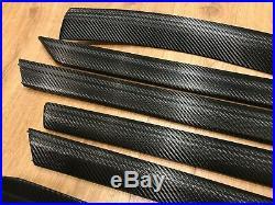 BMW 3 series e46 Sedan Touring Black Carbon Fiber Wrapped Interior Trim Set