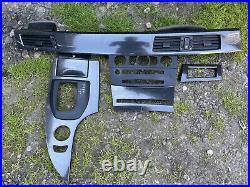 BMW 5 Series E60 E61 Interior Dash Trim Cover Panel Set Carbon Fibre Wrapped