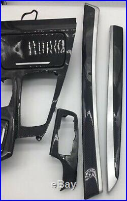 BMW 5 Series F10 F11 Genuine Carbon Fibre Interior Trim Set