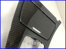 BMW 6 F06 Carbon Fiber M Performance Interior Trim Kit Dashboard 2015 7 pcs RHD