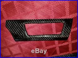 BMW Carbon Fiber Dash interior trim E90 E91 E92 E93 335 M3 328 325 330 135 128