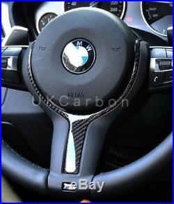 BMW Carbon Fibre Steering Wheel Trim F20 F21 F22 F30 F31 F32 F33 F34 F36 1 2 3 4