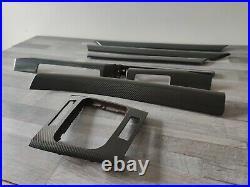 BMW E46 4D Carbon Fiber CF Interior Trim Set 328 323 325 330 Sedan/Touring