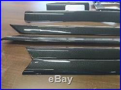 BMW E46 Interior Trim Kit 8PCS CARBON FIBER RHD