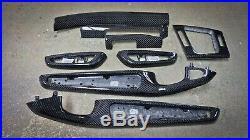 BMW E46 M3 330 328 325 323 REAL CARBON FIBER Interior TRIM SET SERVICE