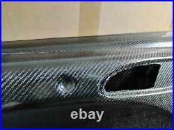 BMW E46 M3 Carbon Fibre Door Panels Cards Interior Hard Motorsport front
