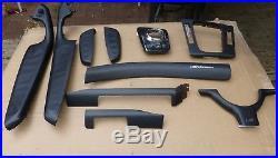 BMW E46 Sedan/Coupe/Convertible Interior Dash Trim Set Carbon Fiber-TEN Pieces
