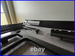 BMW E60 E61 2003-2007 4D CARBON Interior Trim Set Interior pieces OEM