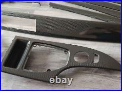 BMW E60 E61 2007-2010 4D CARBON Interior Trim Set Interior pieces OEM