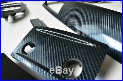 BMW E60 E61 Sedan Touring LCI 4D Carbon Glossy OEM Interior SET CCC