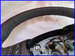 BMW E87 E90 M3 X1 ///M Steering Wheel Perforated Leather Carbon M Stitch