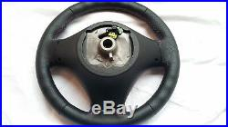 BMW E87 E90 M3 X1 ///M Steering Wheel Perforated Leather Carbon M Stitch Airbag