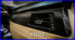 BMW E90 M3 335 330 328 Black Carbon Fiber Wrapped Interior Trim Set SERVICE
