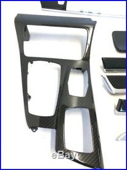 BMW F10 F11 Carbon Fiber M Performance Interior Trim Kit Dashboard LHD 9206371