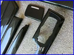 BMW F10 F11 F07 5 series Automatic M Performance Carbon Fibre Interior Trim RHD