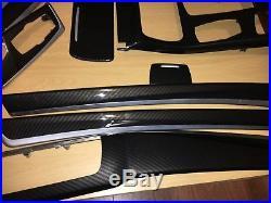 BMW F10/F11/F07/F18 Performance Carbon Fibre Interior Trim Dash Set of 9 RHD