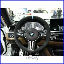 BMW F10 M5 Genuine Carbon Fibre M Performance Steering Wheel Trim