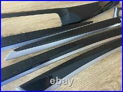 BMW F10 M5 Series Interior Trim parts CARBON FIBER LHD 6 PCS LHD RHD