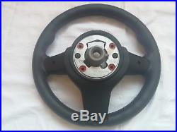 BMW F20 F22 F30 F32 Steering Wheel ///M Stitch Carbon Fiber Perforated Leather