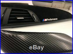 BMW F21 F22 M2 Performance Black Alcantara Carbon Fibre Interior Trim Dash Set
