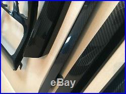 BMW F25 F26 X3 X4 M Performance Carbon Fibre Interior Trim Dash Set of 6 RHD