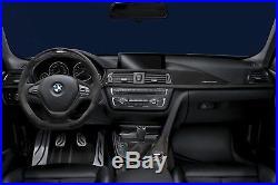 BMW F30 F31 F34 F36 M Performance Carbon Fiber & Alcantara Interior Trim LLOYD