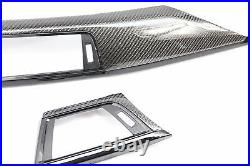 BMW F30 F32 F34 F36 Carbon Fiber Dash Interior Trim Black Accent 12 13 14 15 16+