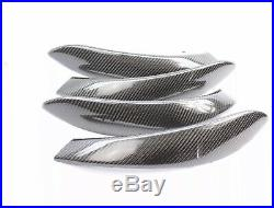 BMW F30 F34 F36 Carbon Fiber Interior Dash Trim black accent 4 Door LHD