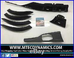 BMW F30 F80 M3 Performance Black Alcantara Carbon Fibre Interior Trim Dash Set 1