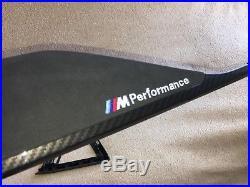 BMW F30 F80 Performance Carbon Fibre alcantar Interior Trim Dash Set of 2 LHD