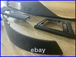 BMW F32 M4 CS Interior Trim part CARBON FIBER LHD 5 PCS LHD ALCANTARA EDITION