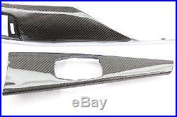 BMW F80 F82 M3 M4 Carbon Fiber Dash Interior Trim Kit 3PC 2014 2015 2016 2017