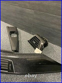 BMW F80 F82 M3 M4 F30 F32 Original Dashboard Interior Trims CARBON Fiber