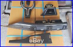 BMW F80 M3 F82 M4 Interior Trim Dash Console carbon fiber gear stick steering