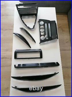 BMW Interior Trim 2004-2010 E63 E64 645 650 M6 8 Pieces Carbon Fiber Full SET