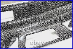 BMW M3 E90 Carbon Fiber HONEYCOMB CUSTOM DASH INTERIOR Trim NO CENTER CONSOLE
