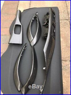 BMW M3 M4 F80 F82 3 4 Series F30 F31 F32 F33 F36 Carbon Fibre Interior Trims