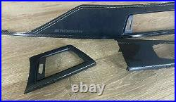 BMW M3 M4 Series F80 F82 M performance Interior Trim ALKANTARA CARBON FIBER RHD