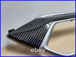 BMW Original G05 G06 carbon fiber interior trim 4 pcs 8745378