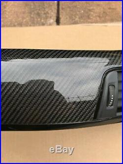 BMW Series 3 4 M3 M4 F82 F80 F30 F31 F36 Carbon Fiber Interior Trim