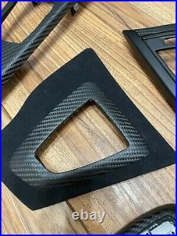 BMW Series M3 M4 3 4 F30 F31 F32 F36 Carbon Fiber Interior Trim