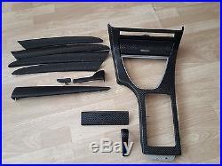 BMW X5 E53 Black Carbon Fiber Wrapped Interior Trim Set