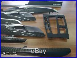 BMW X5 F15 M performance Interior Trim 9PCS CARBON FIBER ALKANTARA EDITION LHD