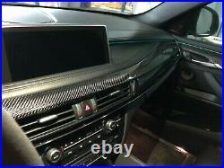 BMW X6 F16/F86 carbon fiber interior trims