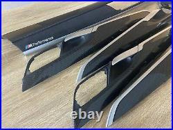 BMW X6 F16 M performance Interior Trim 6PCS CARBON FIBER ALKANTARA EDITION RHD