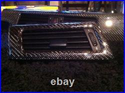 BMW carbon fiber dash interior trim kit e60 M5 04 2005 2006 2007 2008 2009 2010