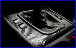 BMW e46 M3 330 325 Coupe Black Carbon Fiber Wrapped Interior Trim SERVICE