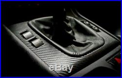 BMW e46 M3 330 325 SEDAN Black Carbon Fiber Wrapped Interior Trim SERVICE