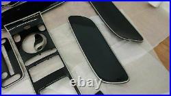 Bentley Gt Gtc Mansory Complete Silver Carbon Fiber Interior Original Mansory